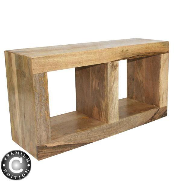 wood cubes furniture. Oak Cubes | 2H379 ~ Twin Cube Display Unit In Natural \u0027Oak\u0027 Coloured Mango Wood Furniture