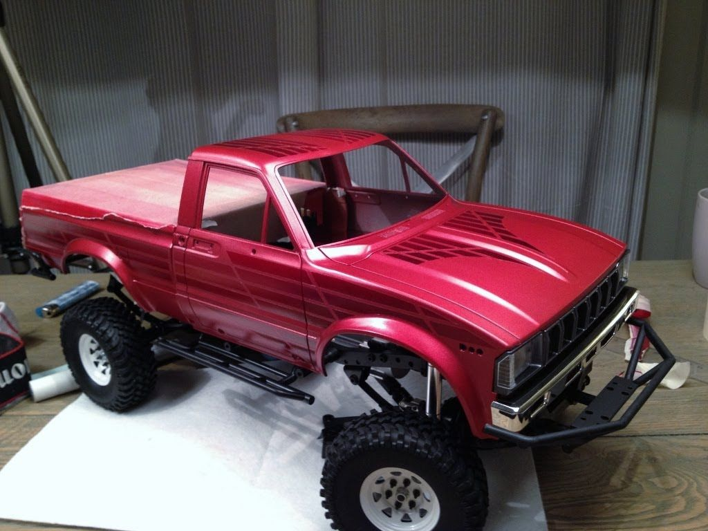 How To Design And Paint A Base Coat Rc4wd Trailfinder2 Design Hard Body Rc Trucks