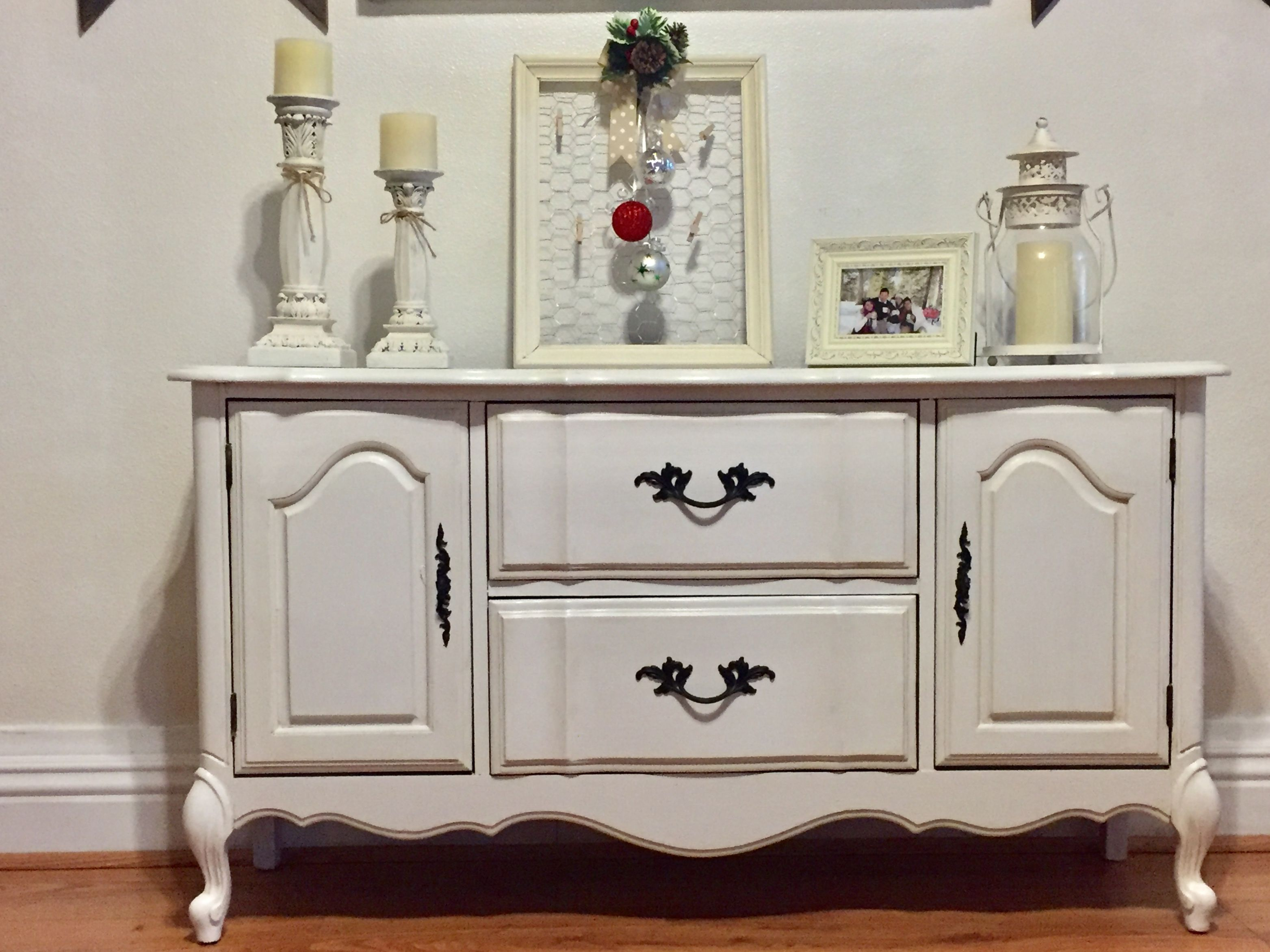 Loved once, loved again. Thrift store find, refinished ...