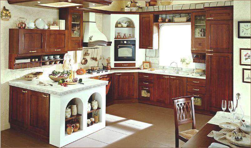 Manca l\'isola per essere in toto la cucina dei miei sogni ...