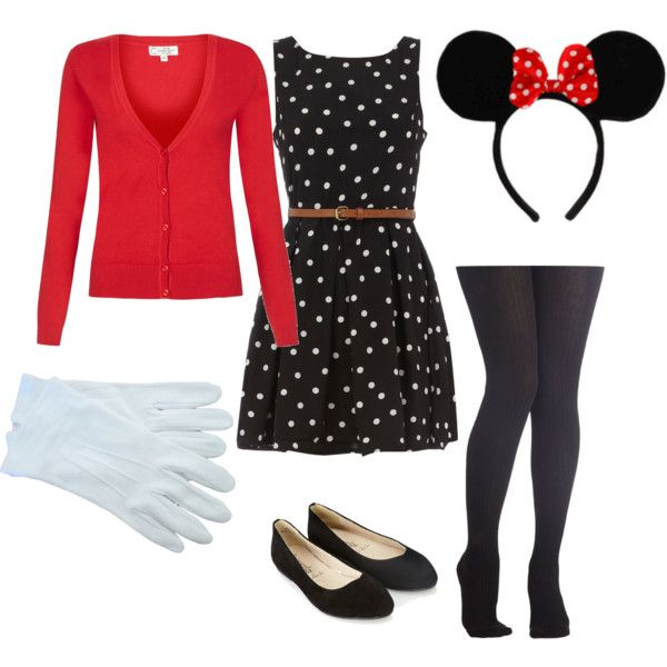 office friendly minnie mouse halloween costume im totally going to do this