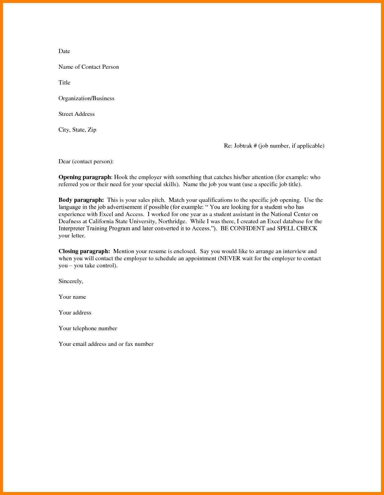 25 Cover Letter Layout Cover Letter Examples For Job Cover