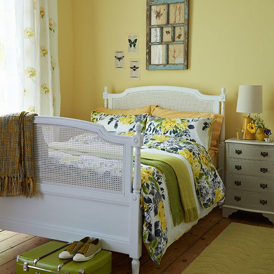 Bedroom Ideas: Yellow Master Bedroom with Reclaimed Wood Wall Decor on yellow living room design ideas, yellow home office decorating ideas, yellow and brown decorating ideas, light yellow bedroom ideas, yellow blue tan bedroom, yellow master bedding, yellow beach bedroom ideas, yellow girls bedroom ideas, vintage bedroom ideas, yellow bedroom ideas for women, white bedroom ideas, yellow laundry room decorating ideas, yellow and grey bedroom ideas, yellow baby room decorating ideas, master bedrooms hgtv decorating ideas, yellow hallway decorating ideas, yellow family room decorating ideas, yellow master bed, teenage boys bedroom ideas, yellow bedroom decor,
