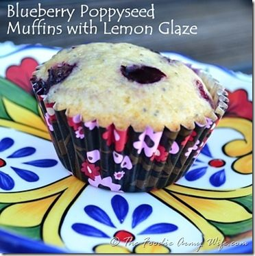Blueberry Poppy Seed Muffins