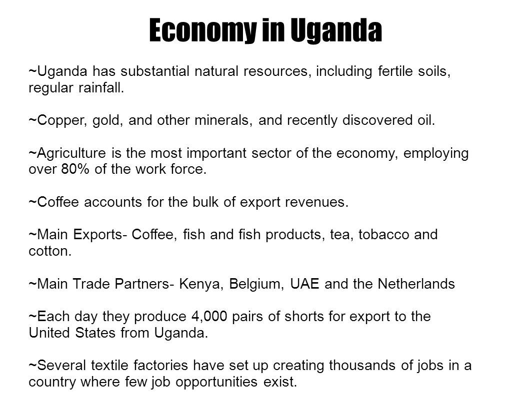 The Good Bad Of Uganda S Economy In 2017 Positively In The Same