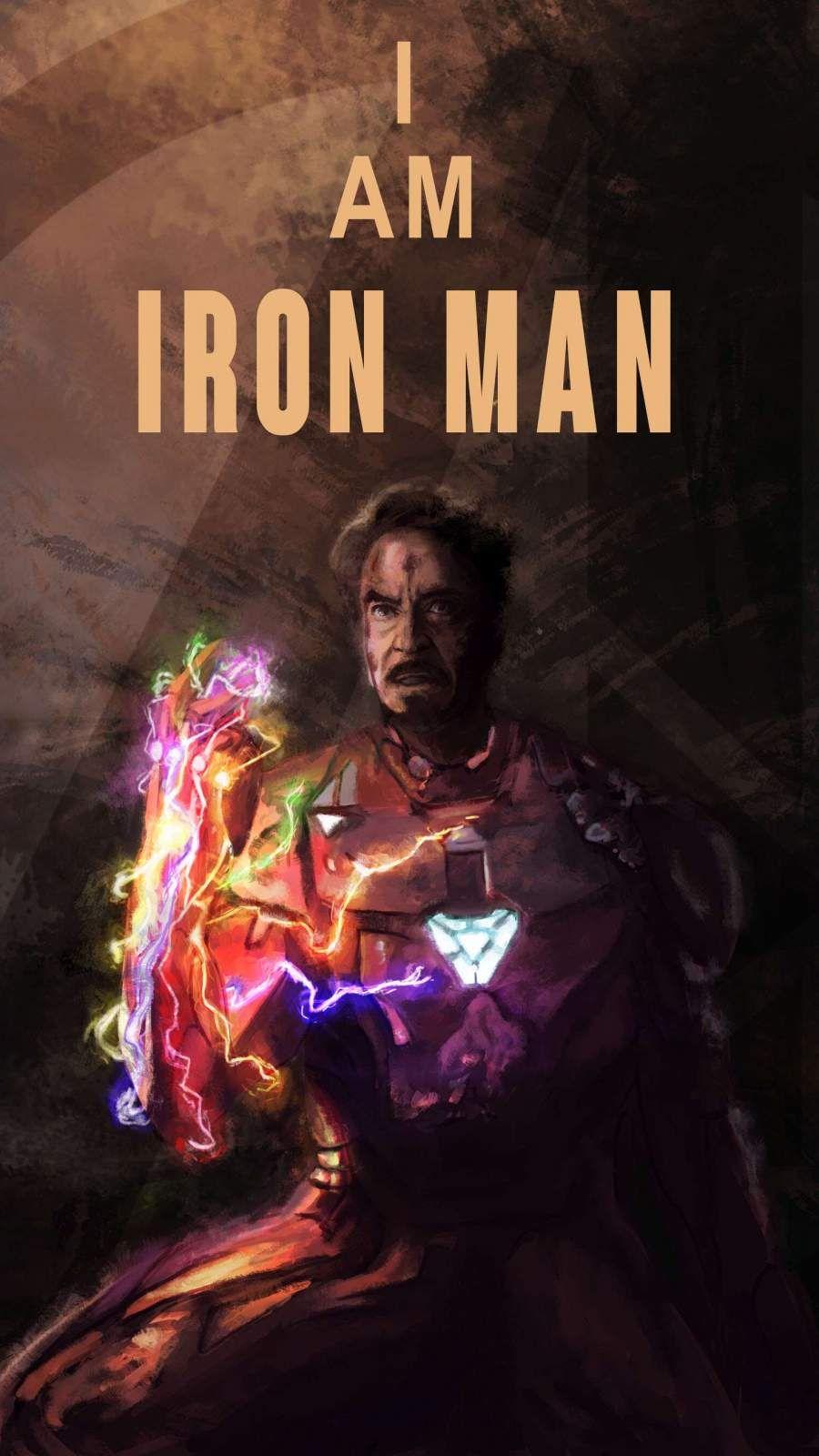 Iron Man Sacrifice Infinity Stone Snap Iphone Wallpaper Iron Man Marvel Wallpaper Iron Man Wallpaper