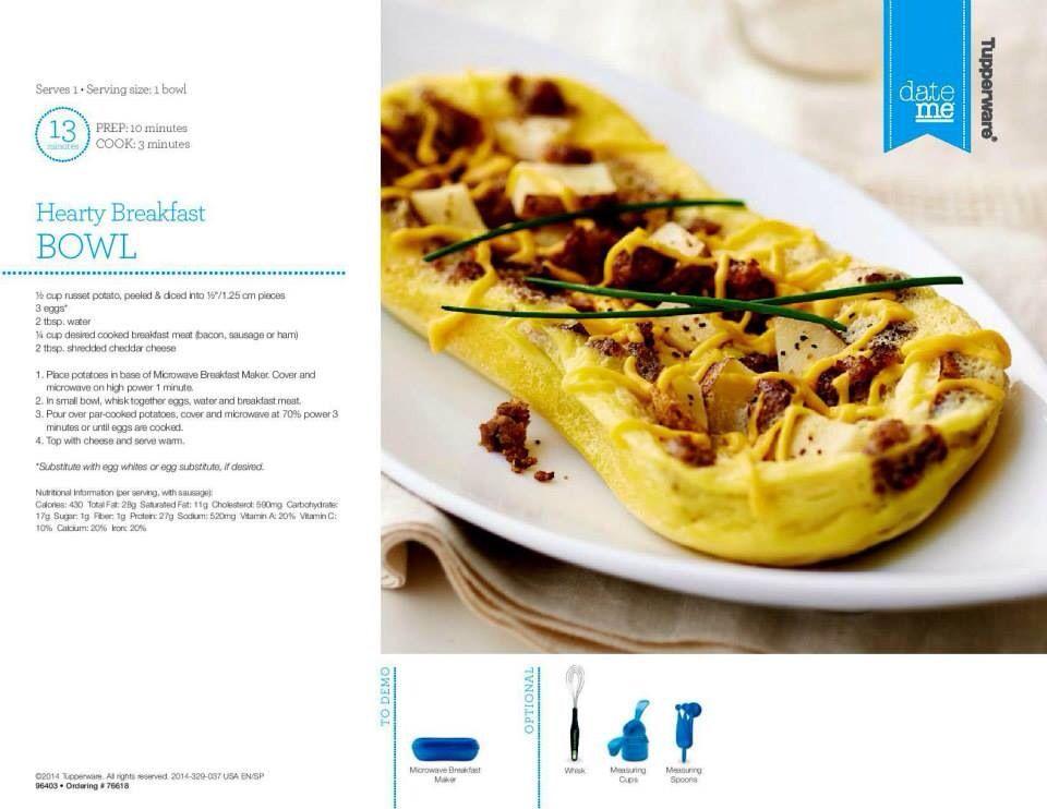 tupperware breakfast maker omelette meister pinterest tupper. Black Bedroom Furniture Sets. Home Design Ideas