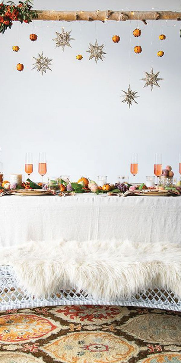 Table en fête • winter tablescape