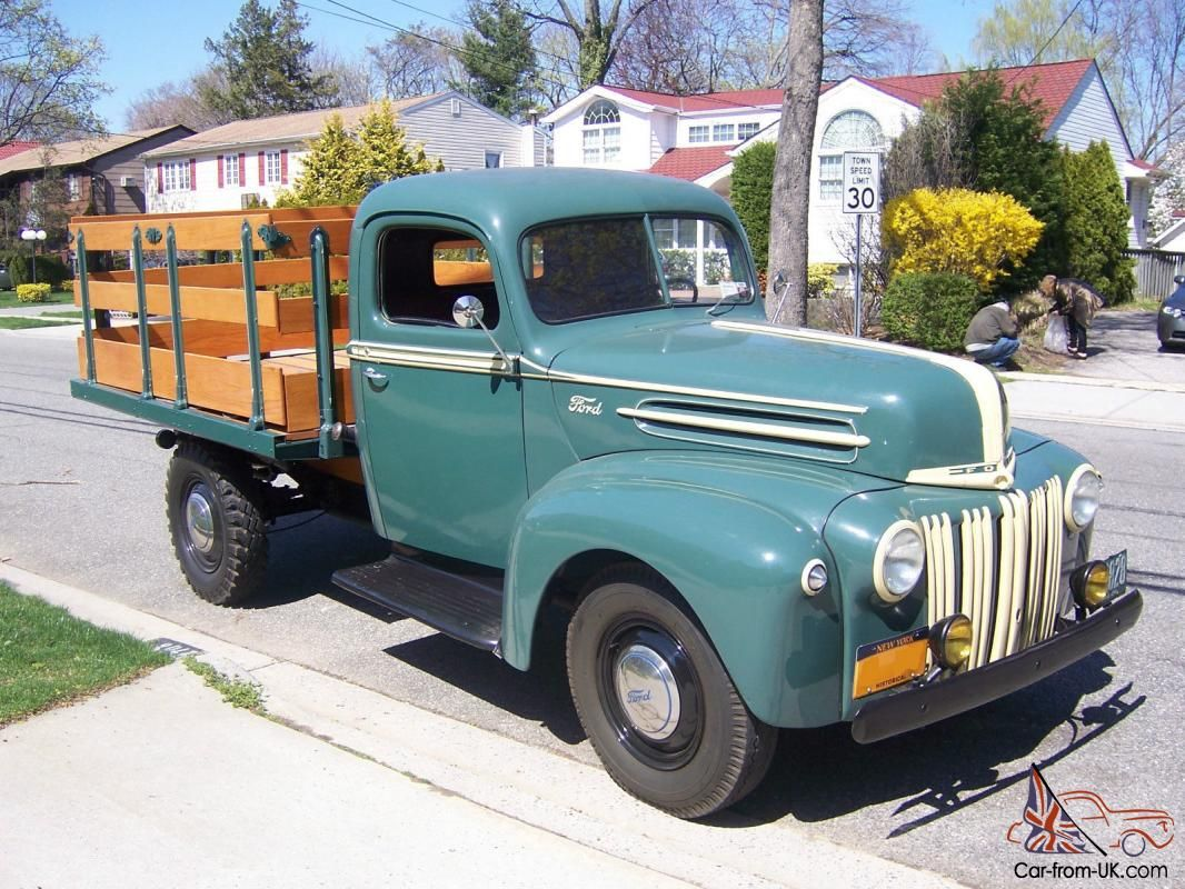 Image result for classic original ford truck | Pickup trucks 1946 ...