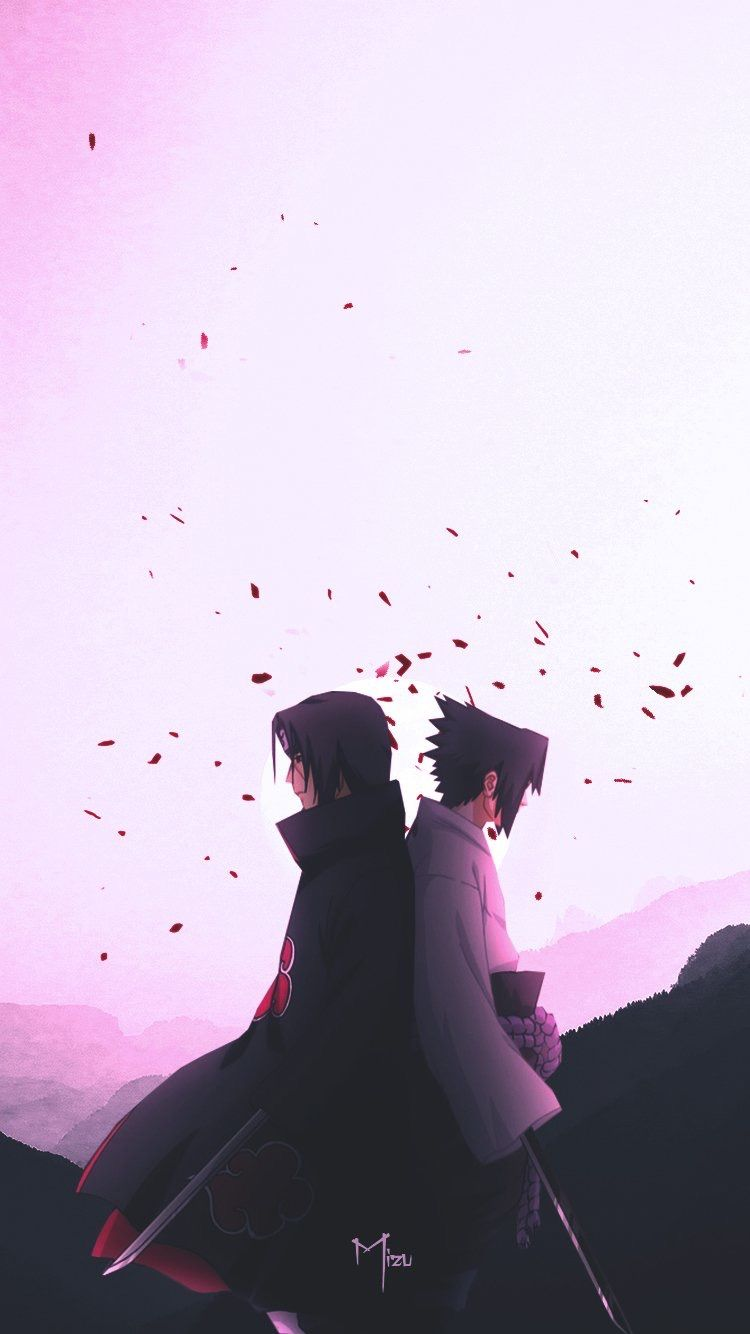 Photo of Itachi & Sasuke Wallpaper by Mizu