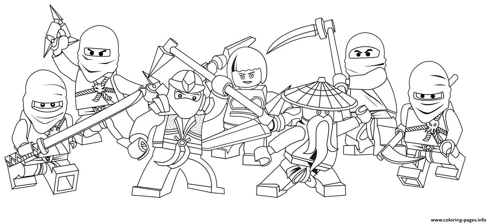Print Characters Of Ninjago Secc8 Coloring Pages Ninjago Coloring Pages Lego Coloring Pages Free Coloring Pages