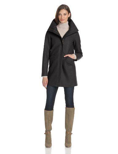 Tommy Hilfiger Women's Cozy Wool Coccoon Coat, Black, 2 Tommy Hilfiger,http://www.amazon.com/dp/B00D439Z1U/ref=cm_sw_r_pi_dp_8uYusb0CNKT2794M