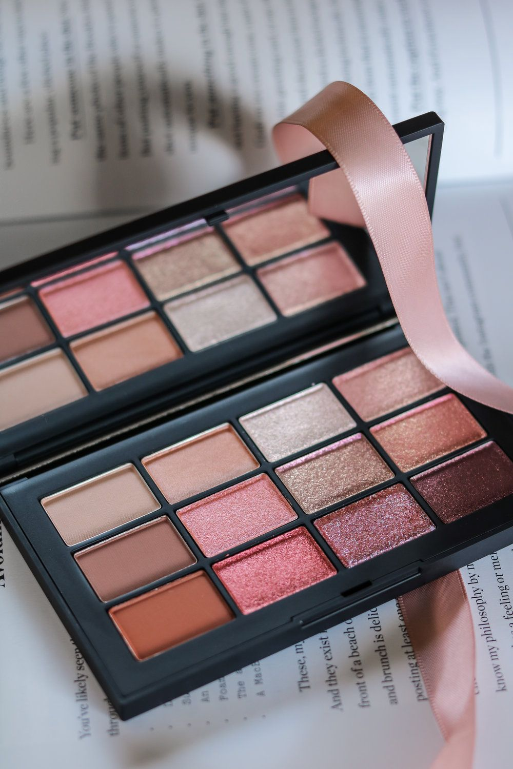 NARS IGNITED EYESHADOW PALETTE REVIEW & SWATCHES Pink