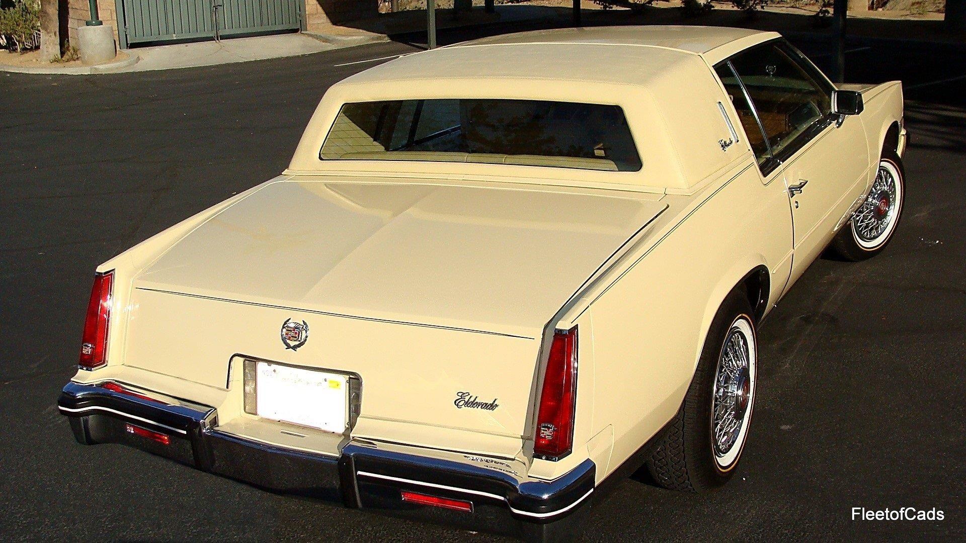 1985 Cadillac Eldorado 26k Miles In Triple Canary Yellow