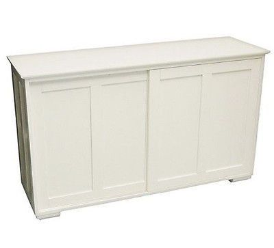 Cabinet For Storage Stackable Kitchen Dining Sliding Door Antique White Pantry