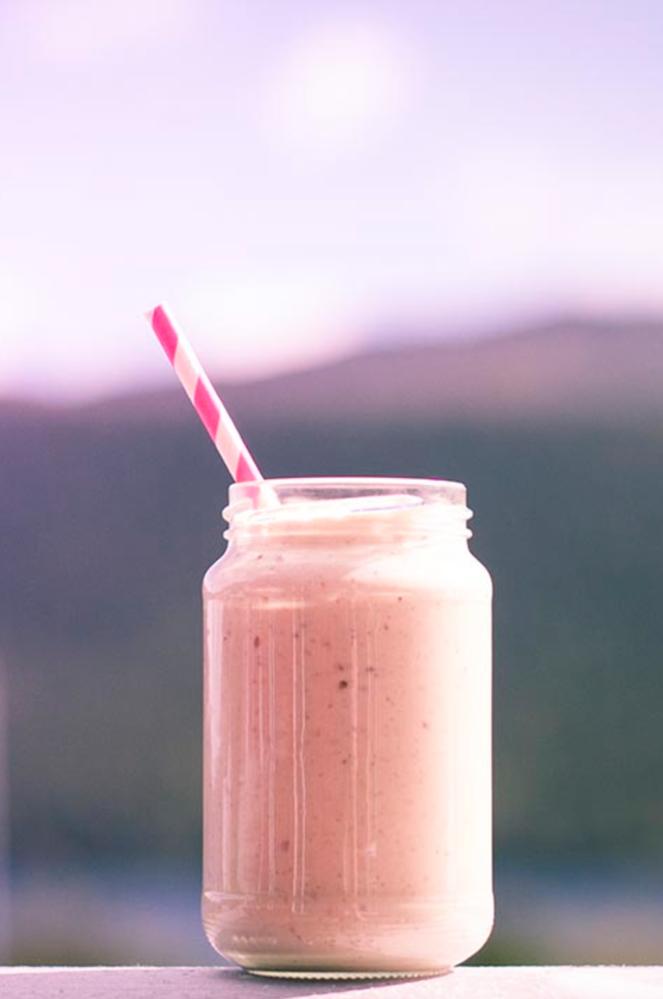 Snickers smoothie!