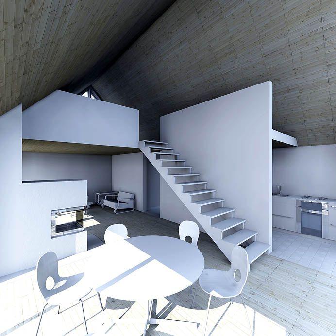 Sunhouse L1 - interior. Architect: Jarkko Könönen