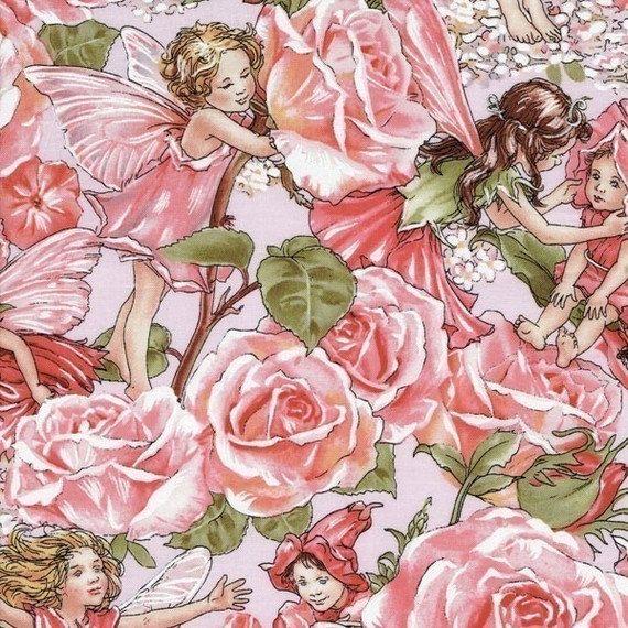 flower fairy rose sweet garden pink cicely mary barker. Black Bedroom Furniture Sets. Home Design Ideas