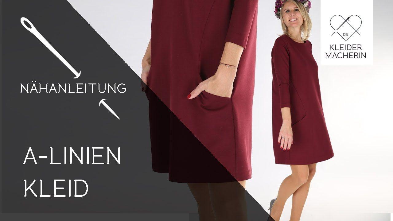 Einfaches Kleid nähen (Damen) - Das perfekte Wohlfühlkleid
