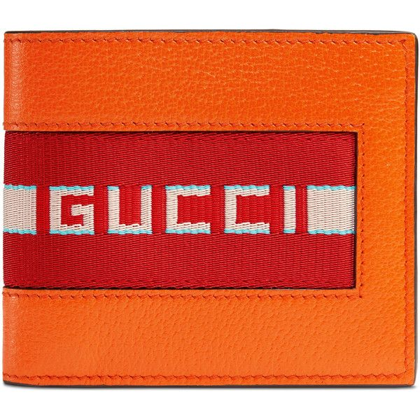 c5aea83c2ba Gucci Stripe Leather Wallet ( 420) ❤ liked on Polyvore featuring men s  fashion