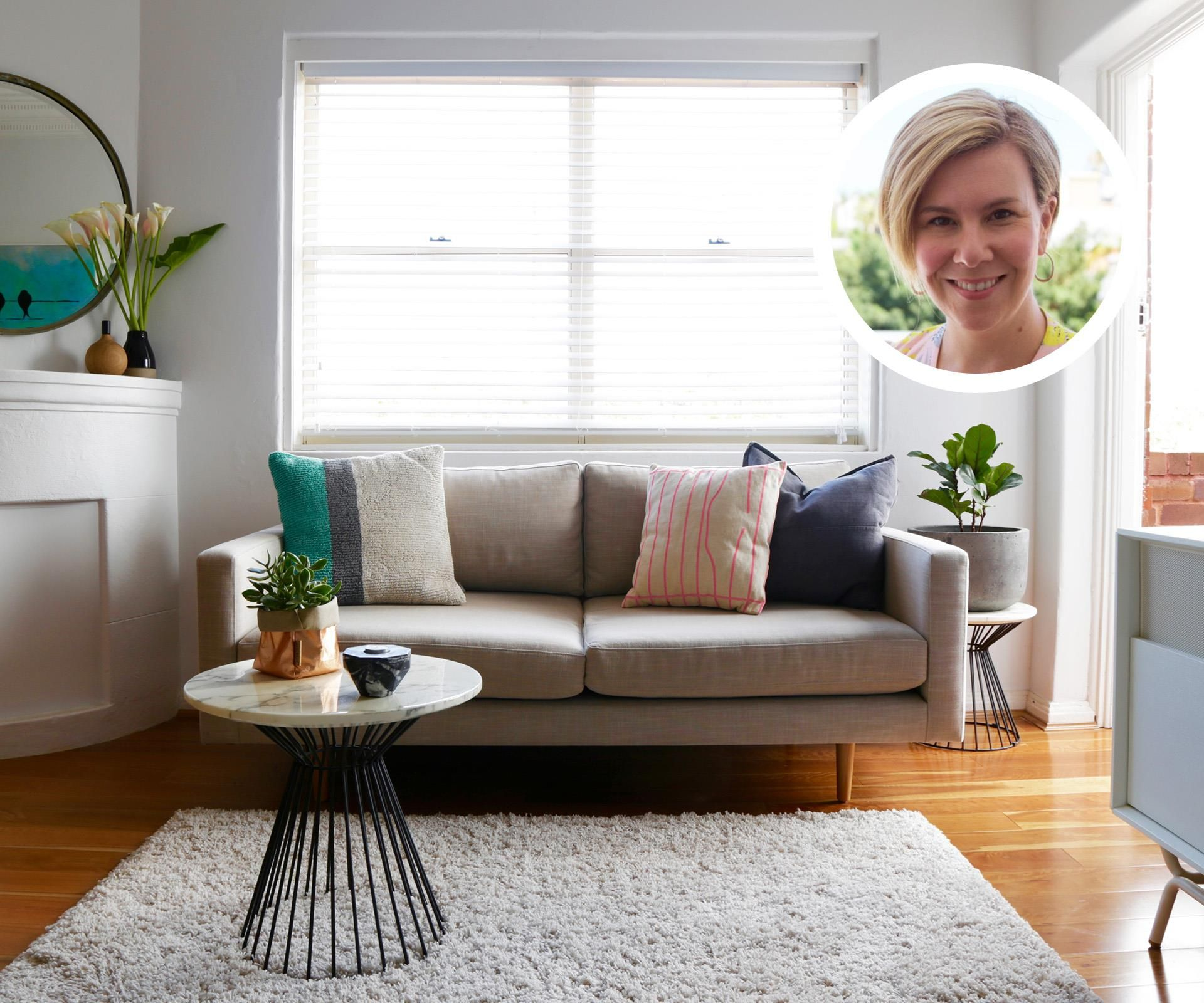 Lauren Keenan\'s 5 tips for a living room mini-makeover | Living ...