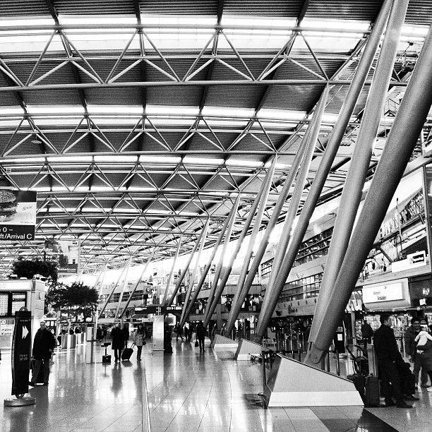 Düsseldorf Airport (DUS) en Düsseldorf, Nordrhein