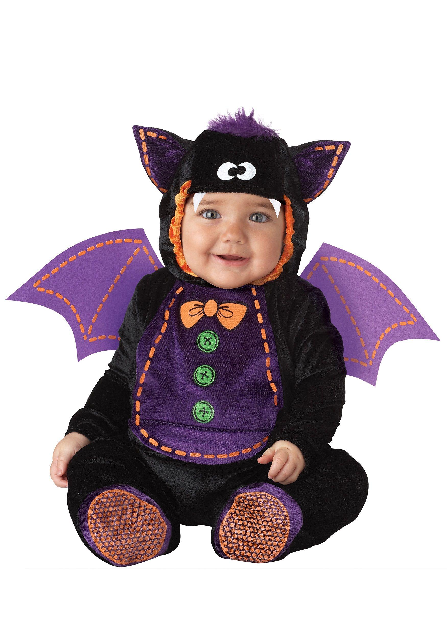 Infant Bat Costume | Halloween costume toddler, Toddler halloween ...