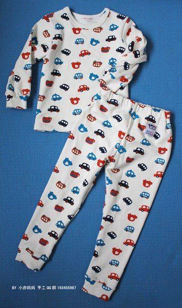 0da4228b65 Como hacer pijamas bonitas para niños01. Encuentra ...
