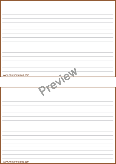 Printable Plain Lined Recipe Card Templates 4x6 And 2x5 Recipe Cards Template Recipe Cards Photo Card Template