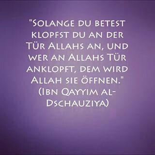 Pin Von Nadine Auf Islam اسلام Allah Zitate Islam