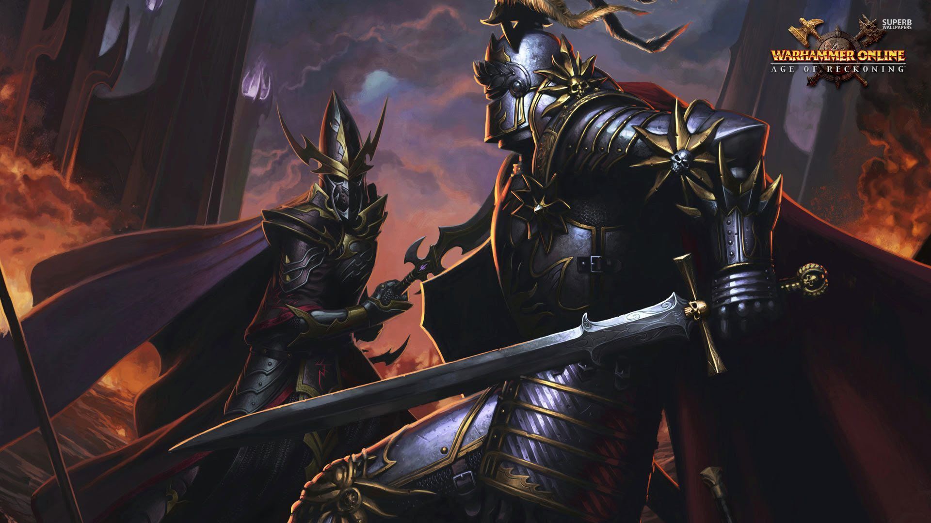 Call of Warhammer Multiplayer Battle #8: Dark Elves vs