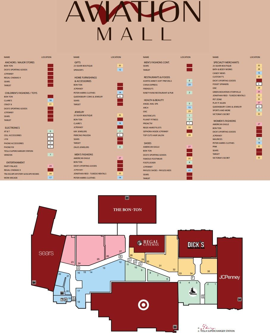 Aviation Mall shopping plan Mall, Aviation, Mall stores