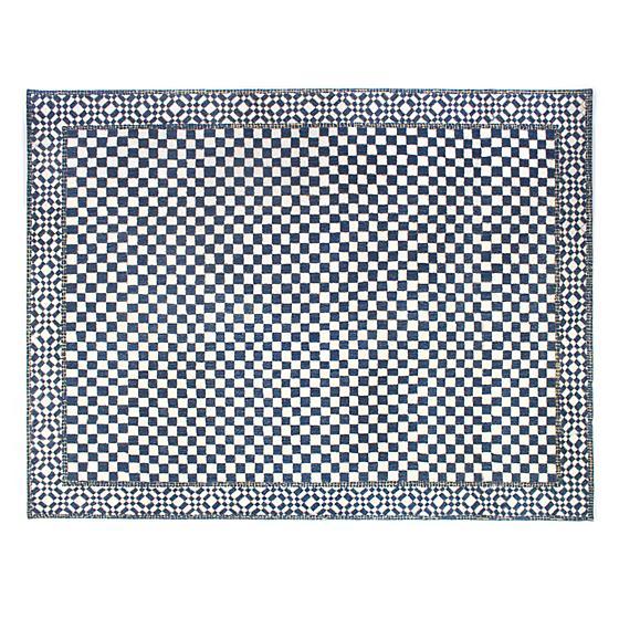 MacKenzieChilds Royal Check Rug 9' x 12' Rugs, Rug