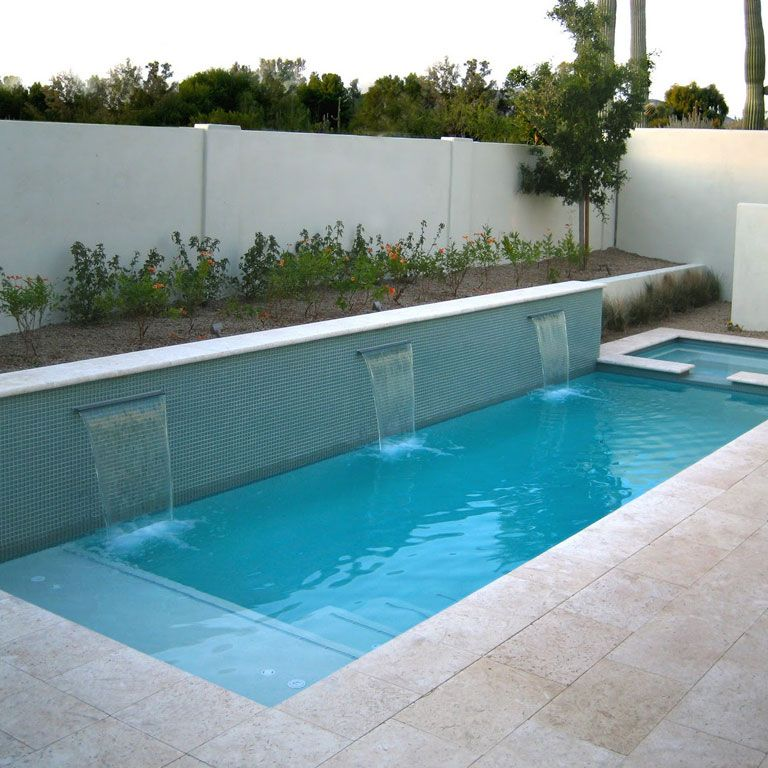 8 32 M² Trk Clic Travertin Tumbled 40x40x3 Ceramico Small Swimming Pools