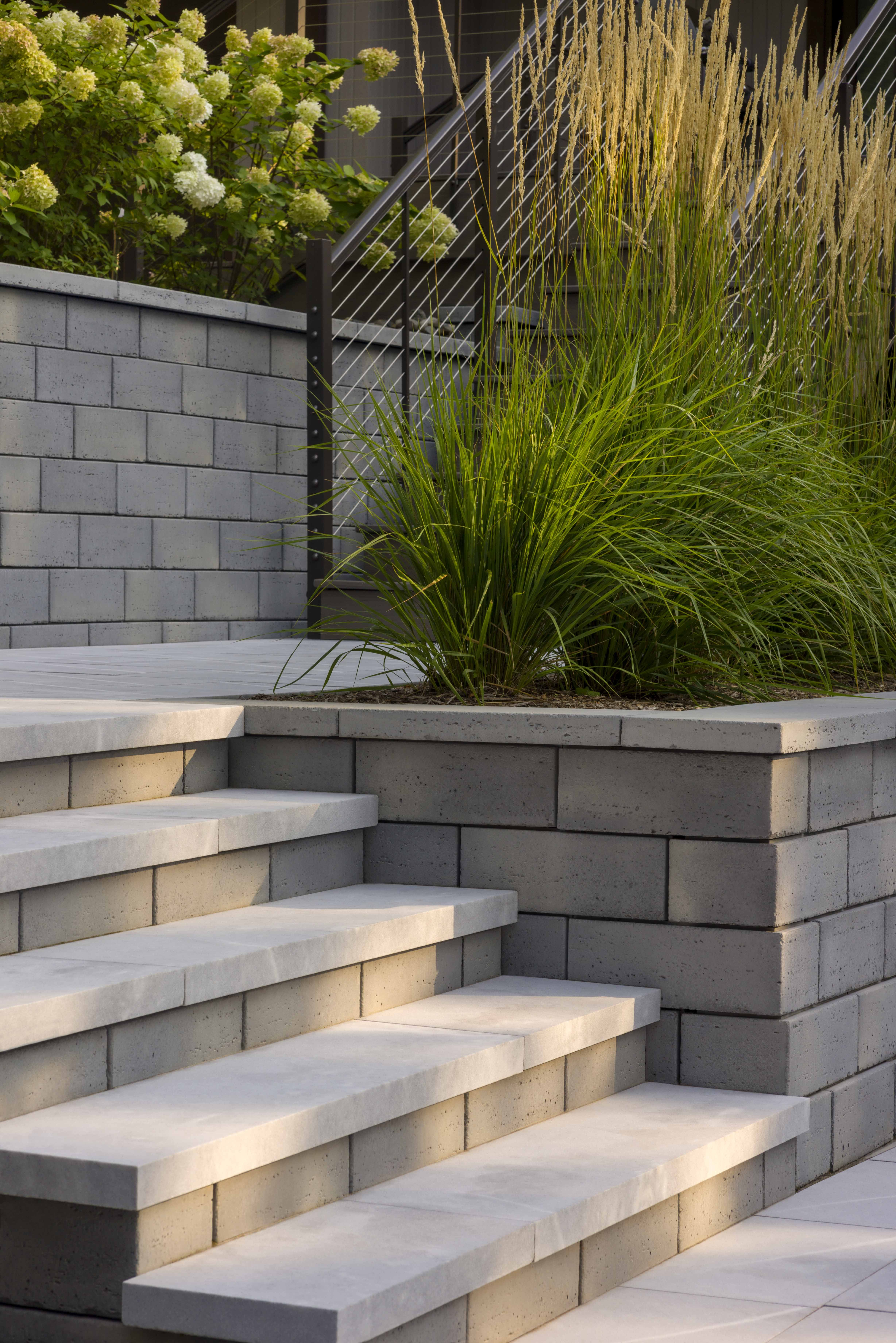 Outdoor Steps In 2020 Front House Landscaping Outdoor Steps Exterior Stairs