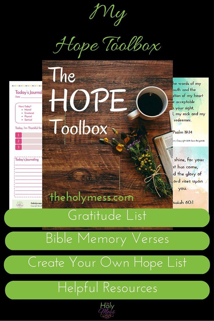 My Hope Toolbox