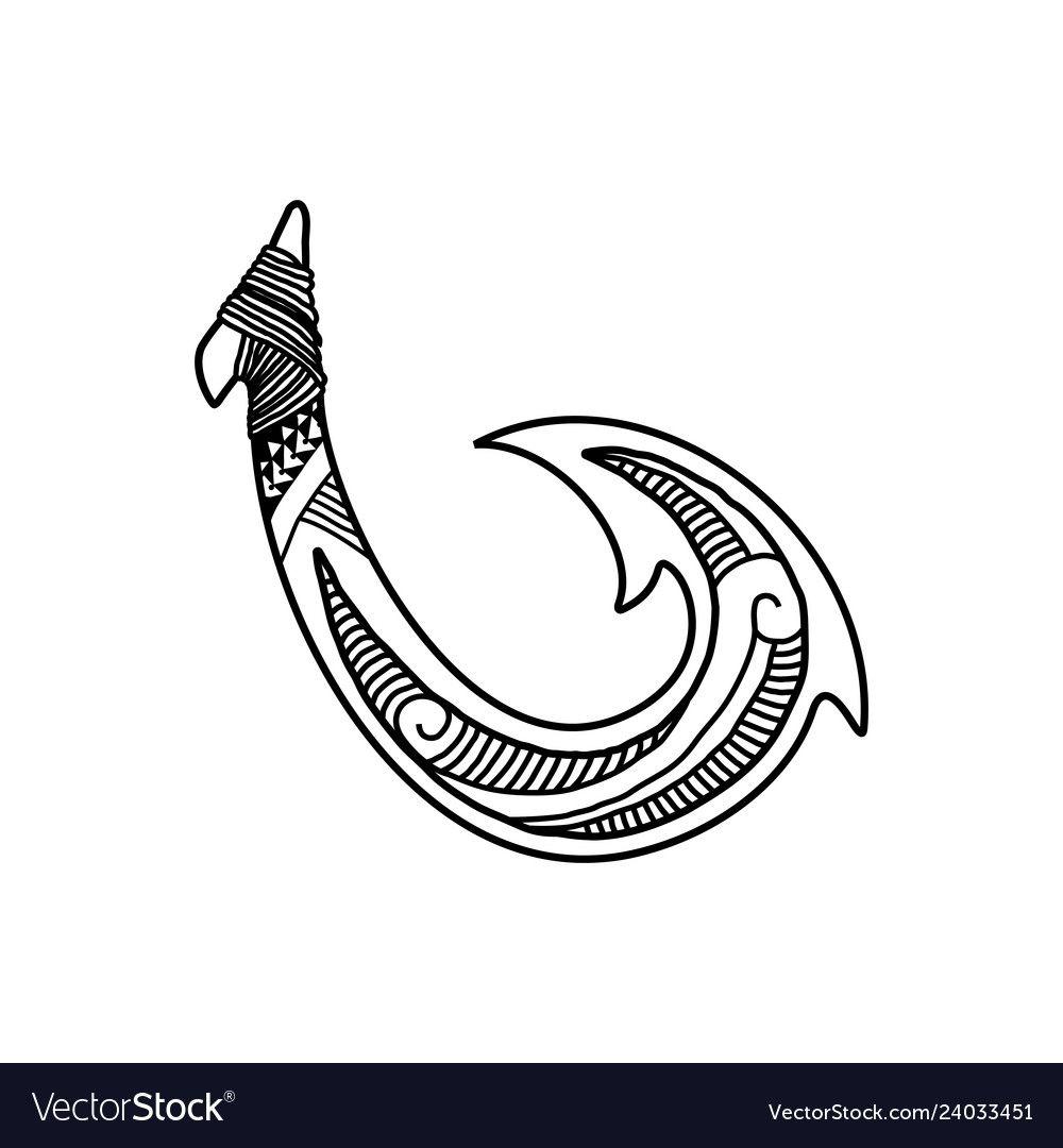 Hand Drawn Hawaiian Fish Hook Logo Design Inspirat Affiliate Hawaiian Fish Hand Drawn Ad Hook Tattoos How To Draw Hands Horse Logo Design