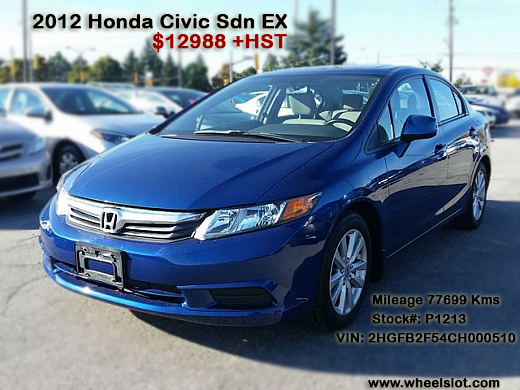 Get 2012 Honda Civic Sdn With Blue Exterior Grey Interior Color New Cars For Sale Cars For Sale New Cars