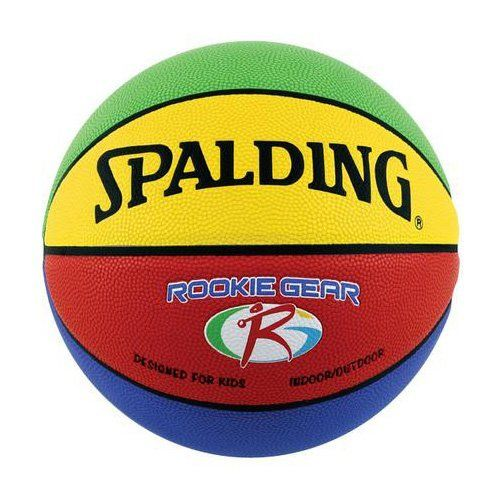 Spalding Rookie Equipment Indoor Out Of Doors Composite 27 5 Youth Basketball Sportivnyj Inventar Basketbol Liga