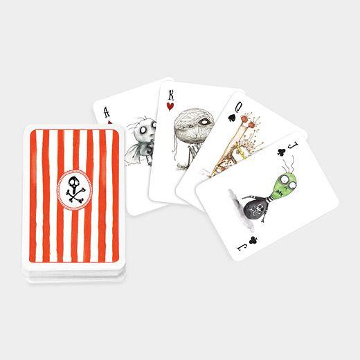 Tim Burton Playing Cards.