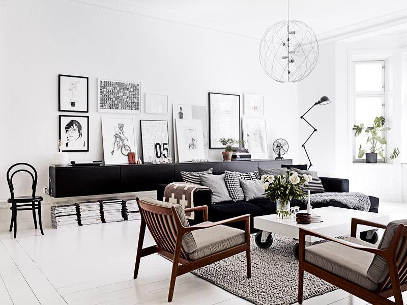 Black And White Scandinavian Living Room Imgur Scandinavian Design Living Room Living Room Scandinavian Minimalism Interior
