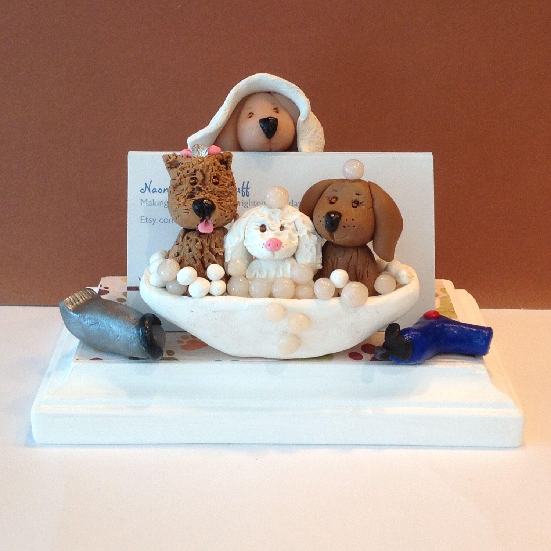 Business+card+holder+for+pet+grooming,+pet+hospital,+Veterinerian ...