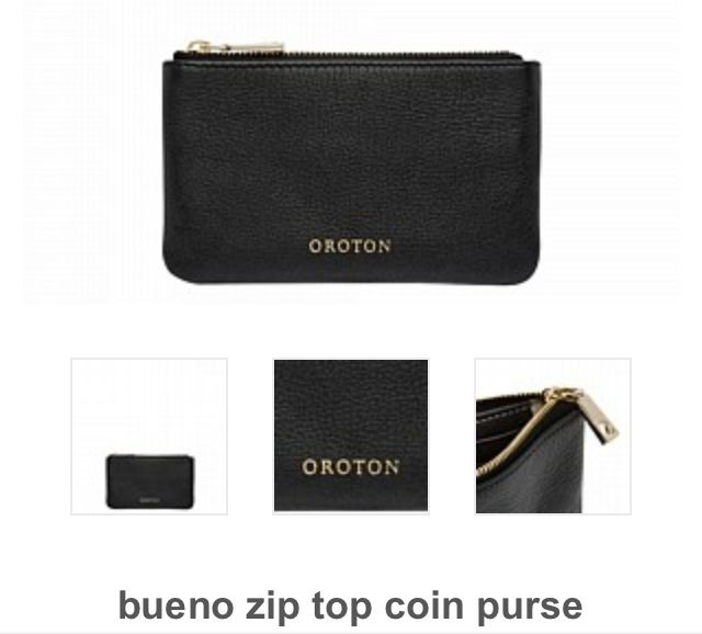 Black Oroton Purse