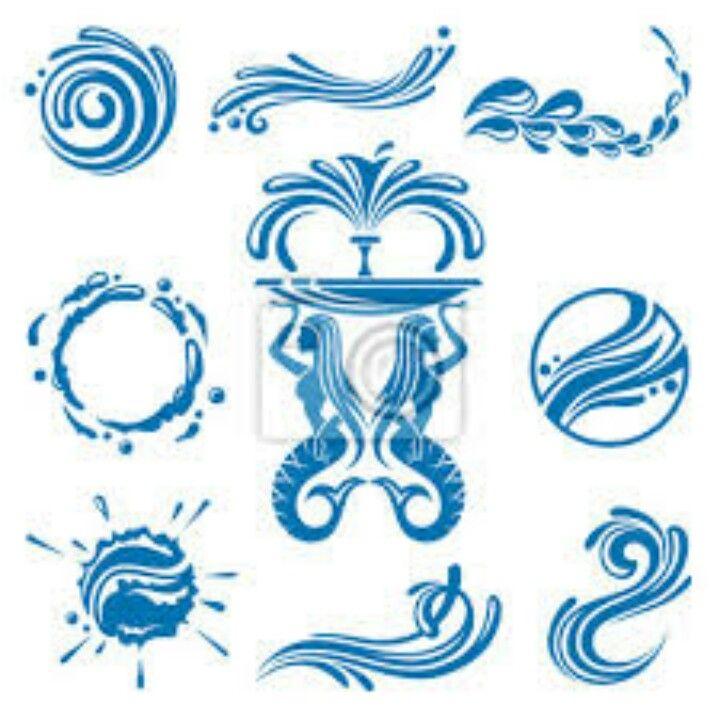 Water Symbols Logos Pinterest Symbols Tattoo And Tatoos