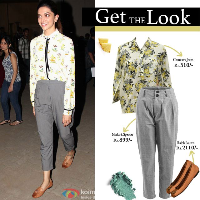 Dress like Deepika! We decoded 4 Deepika Padukone Looks for you to steal.  Shop Express,Burberry,Steve Madden,Charles & Keith On Sale at Rekinza.