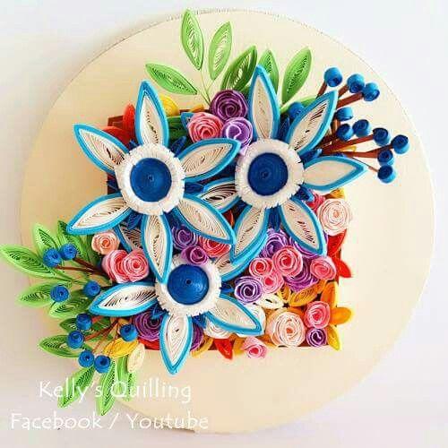 quilling flowers #quilling #flower # design # paper #paperquilling #quillingflowers #quillingart #papercrafts #paperart #learning  #tutorial #paperflowers #handmade #종이감기#종이감기공예#종이감기꽃#종이공예#종이꽃#핸드메이드#クイリング#ペーパークラフト#手作り
