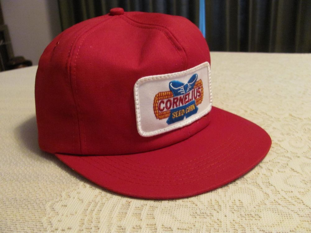 56fe9ca4ff4 Vintage CORNELIUS Seed Corn Baseball Hat Red Patch Cap K-Products Snapback  Farm  fashion  clothing  shoes  accessories  mensaccessories  hats (ebay  link)