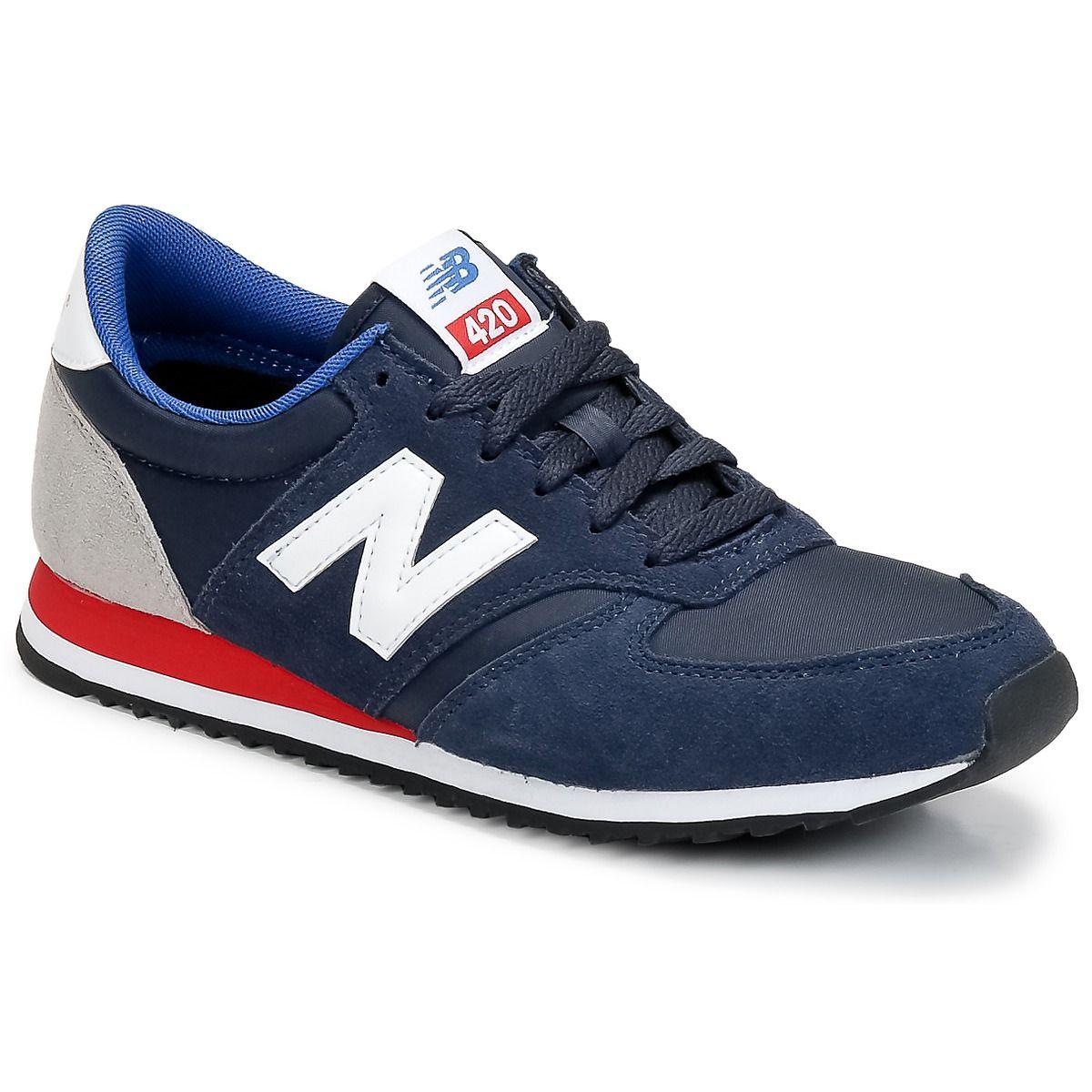 new balance u420 navy red
