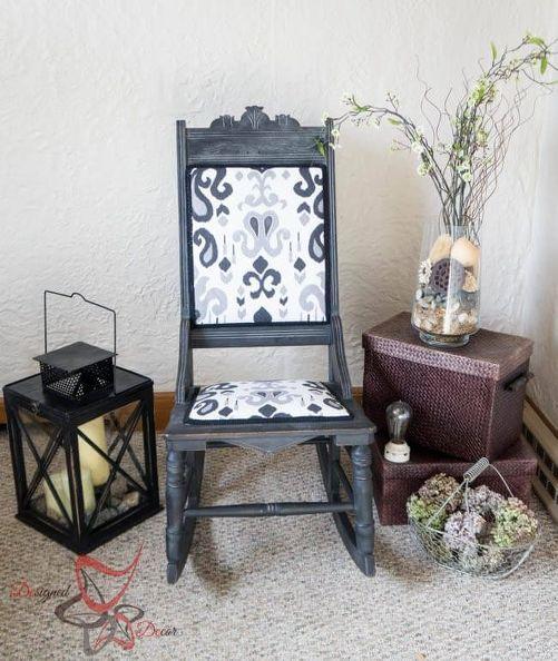 rockero antiguo dado una segunda vida, muebles pintados ...