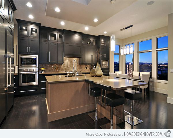 15 Awesome Black Tan Kitchen Designs Interior Design Concepts